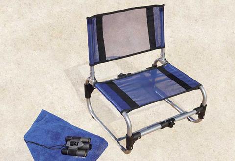 100% Satisfaction Guaranteed - Portable Outdoor Chair @ Sharper Image