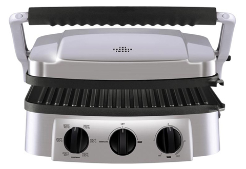 4 In 1 Stainless Steel Grill At Sharper Image