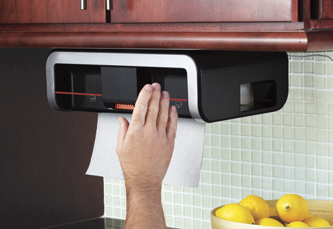 Clean Cut Automatic Paper Towel Dispenser At Sharper Image