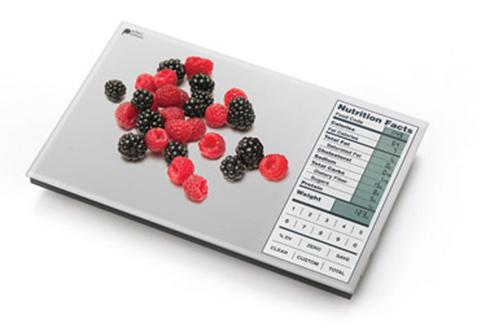 Digital Nutrition Food Scale At Sharper Image