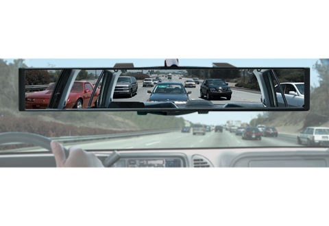 Panoramic Rearview Mirror @ Sharper Image
