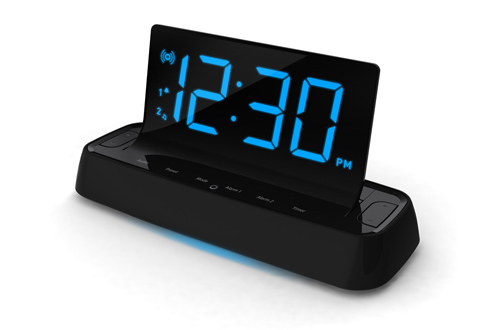 Voice Command Alarm Clock At Sharper Image