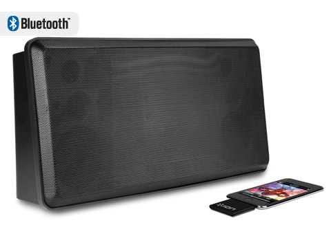 Wireless Speaker System For Ipod Ipad Or Iphone At Sharper Image