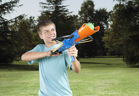 Crossbow Water Balloon Launcher At Sharper Image