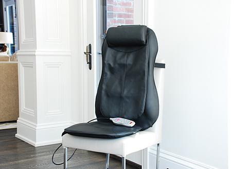 Shiatsu Massage Cushion At Sharper Image