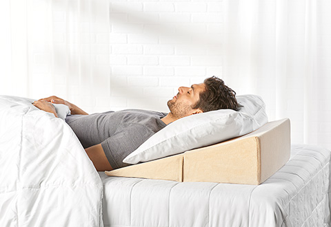 Sleep Improving Wedge Pillow Sharper Image