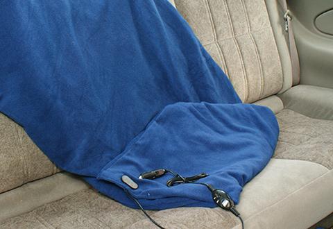 Mobile Heated Blanket Sharper Image