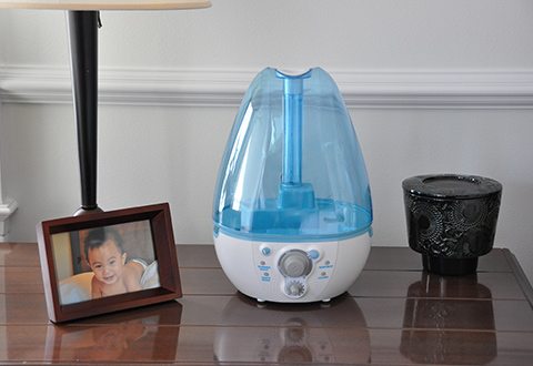 Baby Sound Spa Ultrasonic Cool Mist Humidifier At Sharper Image