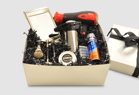 Menu0027s Grooming Gift Basket & Menu0027s Grooming Gift Basket @ Sharper Image