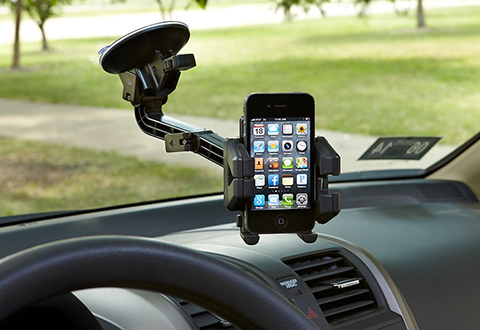 Universal Smartphone Car Mount At Sharper Image
