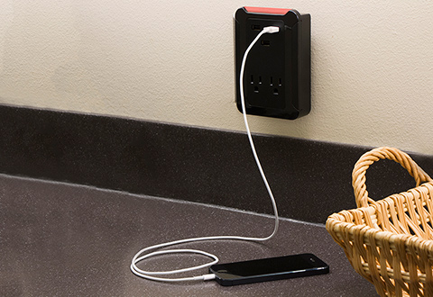 Triple Usb Wall Charger At Sharper Image
