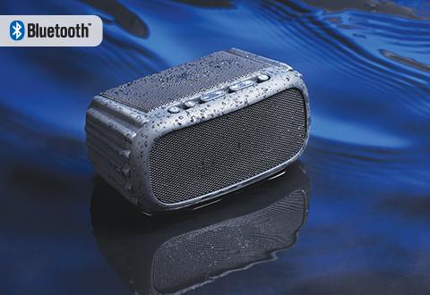 Waterproof Floating Speaker At Sharper Image