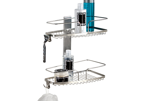 Wall Mount Shower Caddy @ Sharper Image