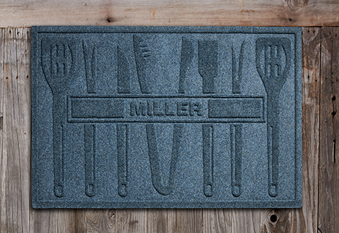 Personalized Bbq Mat Sharper Image