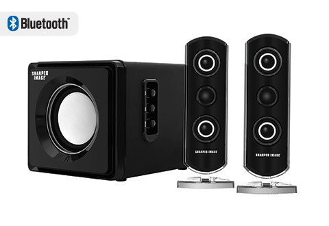 Bluetooth Speaker System With Subwoofer At Sharper Image