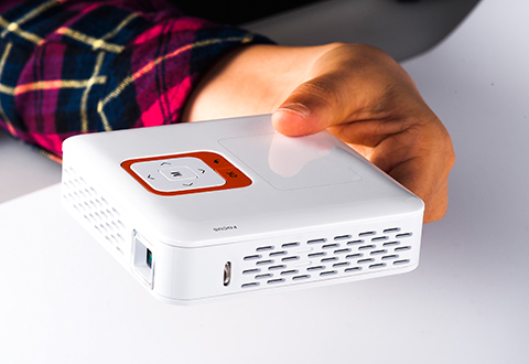 Wi Fi Cordless Pocket Projector At Sharper Image
