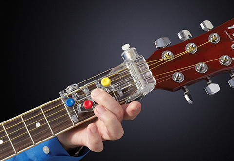 ChordBuddy Guitar Learning System @ Sharper Image