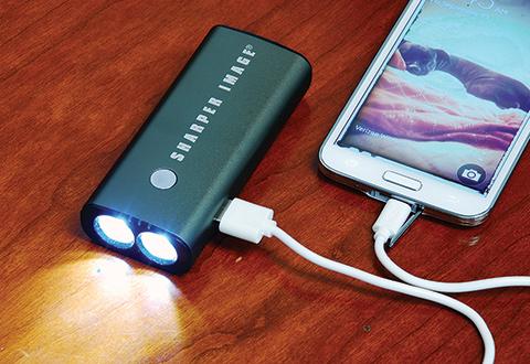 Smartphone Battery Backup At Sharper Image
