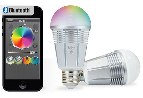 App Controlled Color Changing Led Bulb At Sharper Image