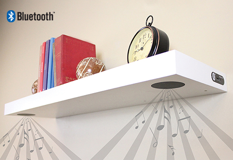 Bluetooth Speaker Shelf At Sharper Image