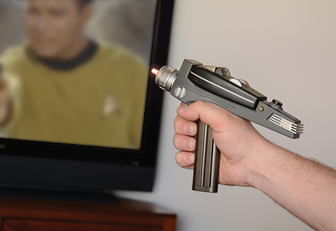 Star Trek Phaser Universal Remote Control At Sharper Image