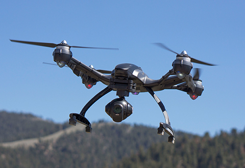 Steady Cam Professional 4k Video Drone At Sharper Image