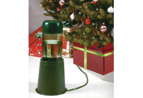 self watering device for led train station christmas tree box sharper image