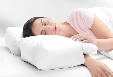 Arm Sleepers Pillow At Sharper Image