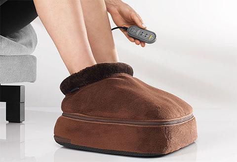 Shiatsu Warming Foot Massager At Sharper Image