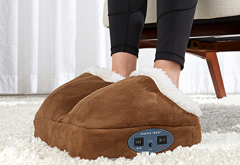 Sharper Image Warming Foot Massager + $25 GC