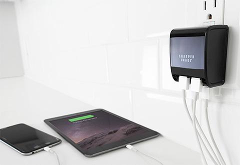 PNY Multi USB Laddare 5 port 25W
