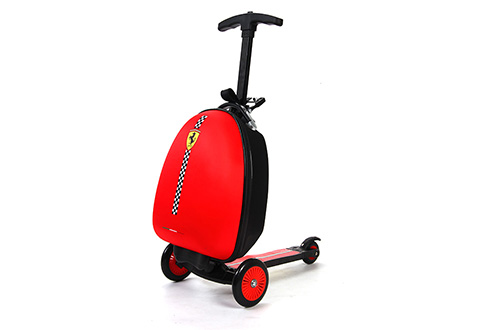 Ferrari Kids Luggage Scooter Sharper Image