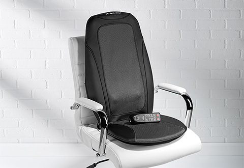 Shiatsu Massage Seat Cushion At Sharper Image