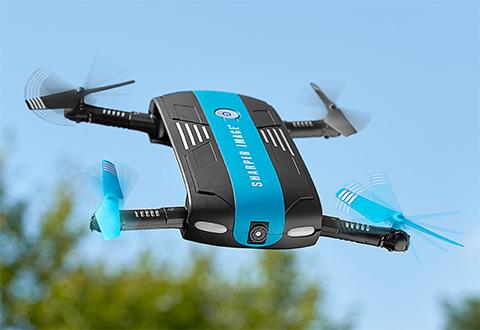 Pocket Video Drone At Sharper Image
