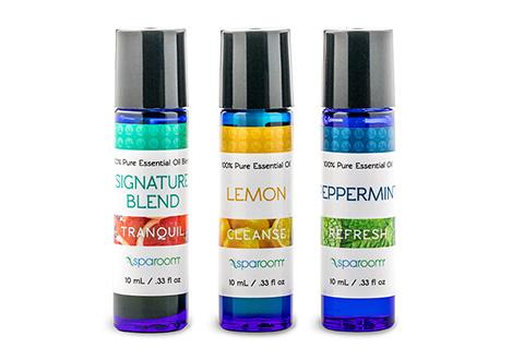 Essential Oil Themed Sensory Packs At Sharper Image