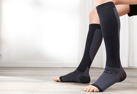 6971c6f042 Lower Leg Compression Supporting Sleeves (1 Pair) @ Sharper Image