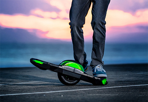 One Wheel Hoverboard @ Sharper Image
