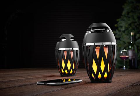 Tiki Tunes Outdoor Bluetooth Speakers Set Of 2 Sharper