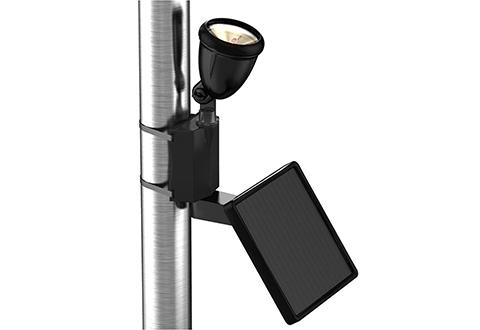 Solar Led Flagpole Light Sharper Image