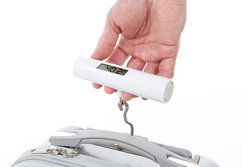 Travel Pros micro 100 lb luggage scale